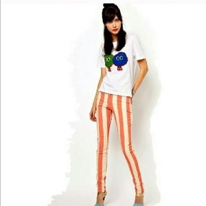 House of Holland striped pant